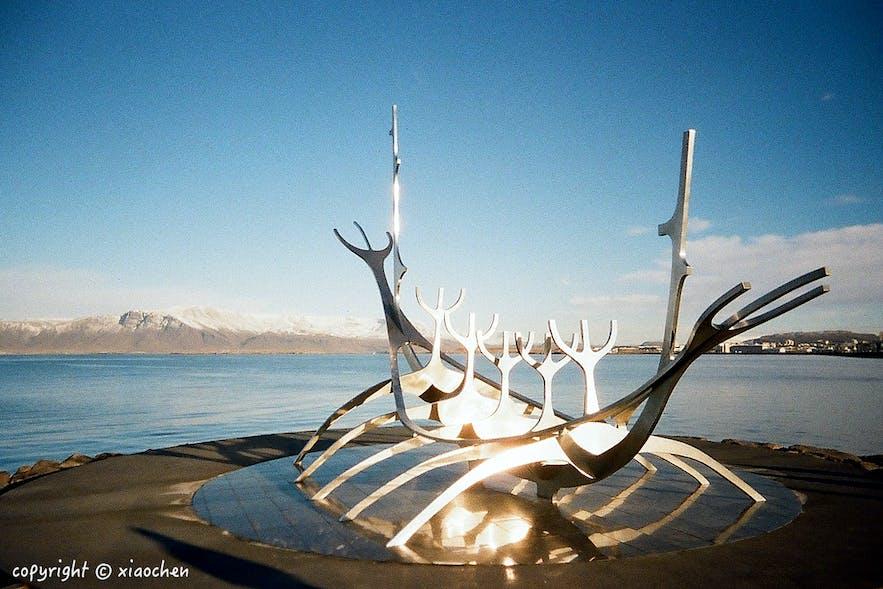 冰岛雷克雅未克维京船-太阳航海者