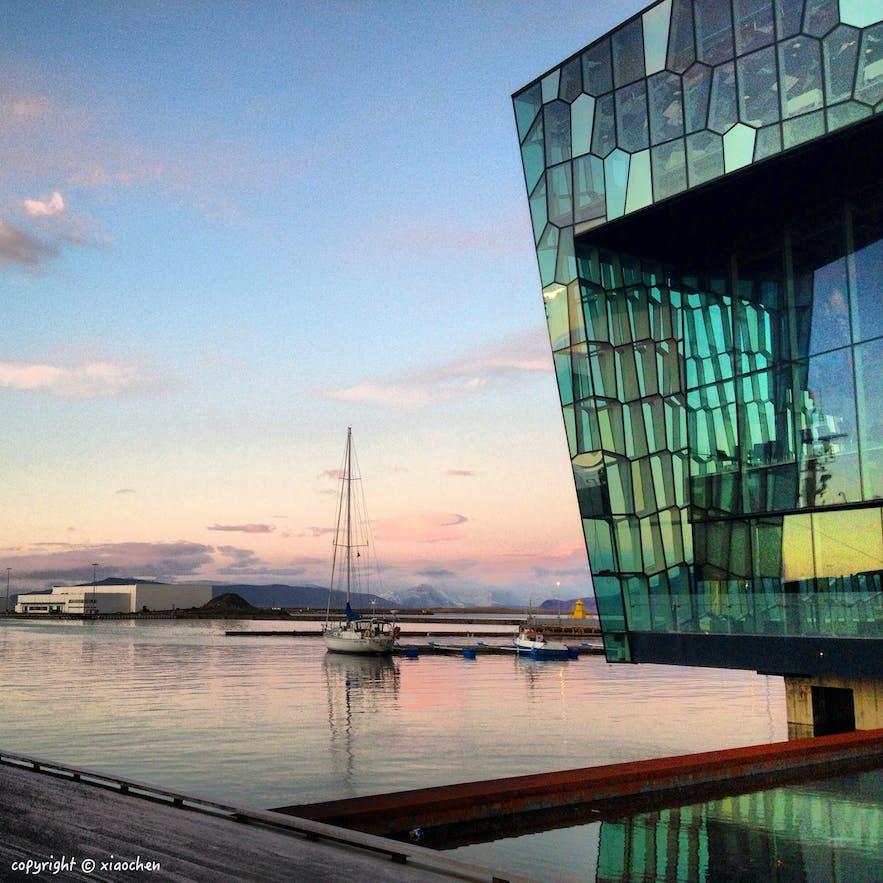 冰岛首都雷克雅未克Harpa