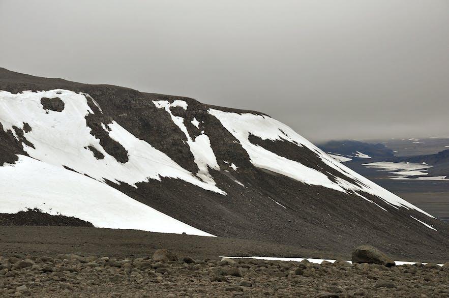 冰島朗格冰川