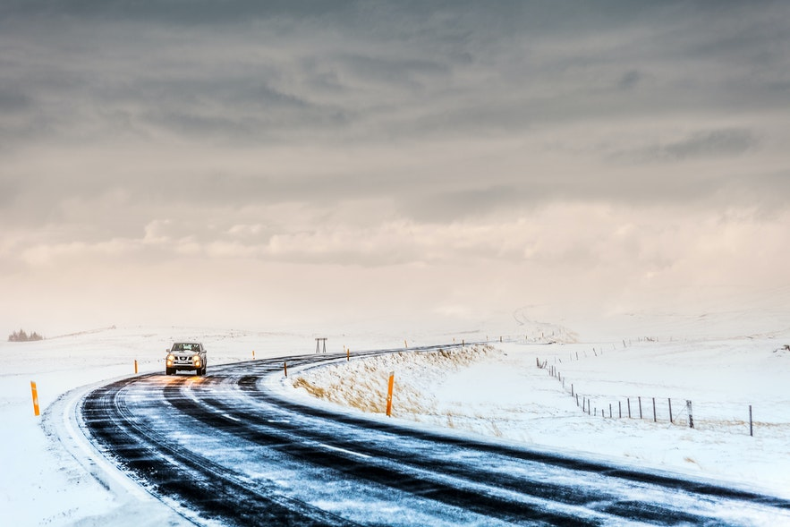 冬天在冰岛自驾
