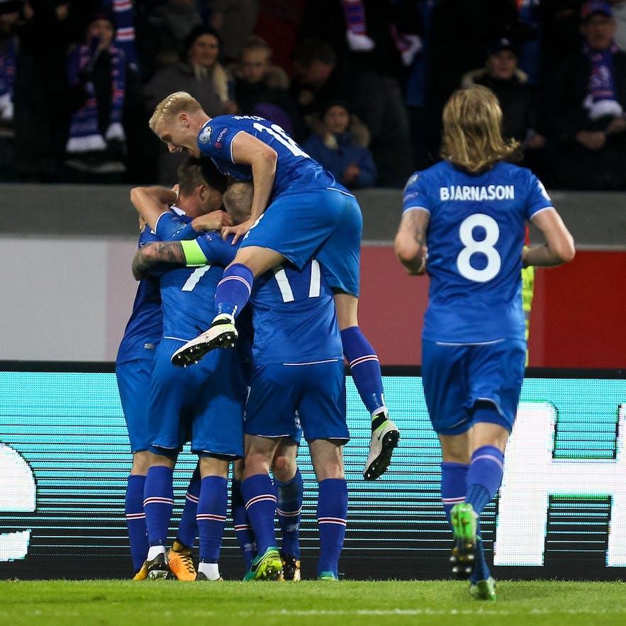冰島足球隊員