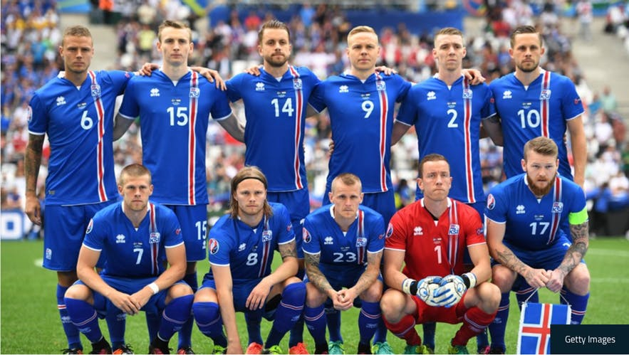 Euro 2016 Iceland team