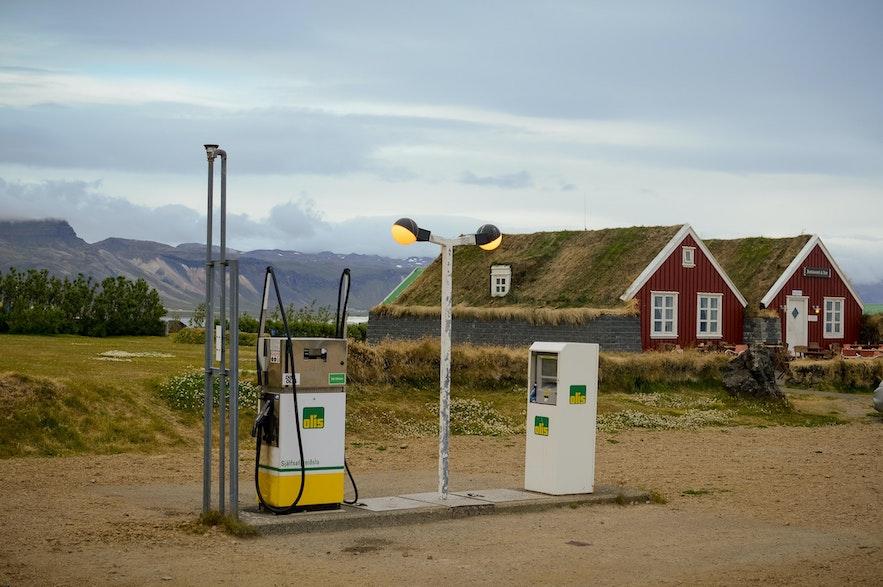 冰島自助油站