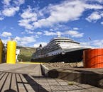 You'll be picked up shortly after your cruise ship docks in Reykjavík to take part in a tour of the Golden Circle or the South Coast