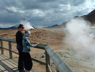 North Iceland Sightseeing and Hot Spring Tour | Lake Myvatn, Nature Baths and Namaskard