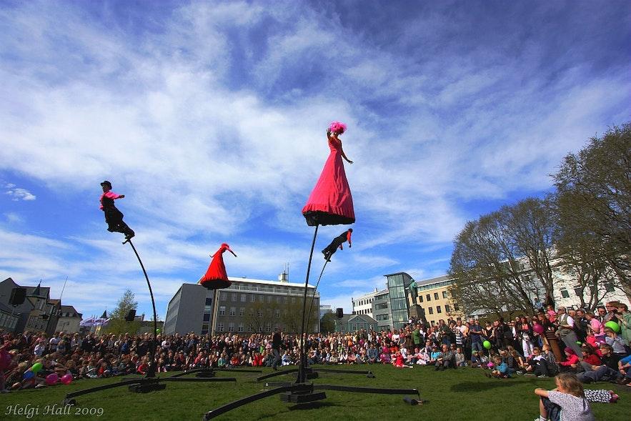 冰島雷克雅維克藝術節