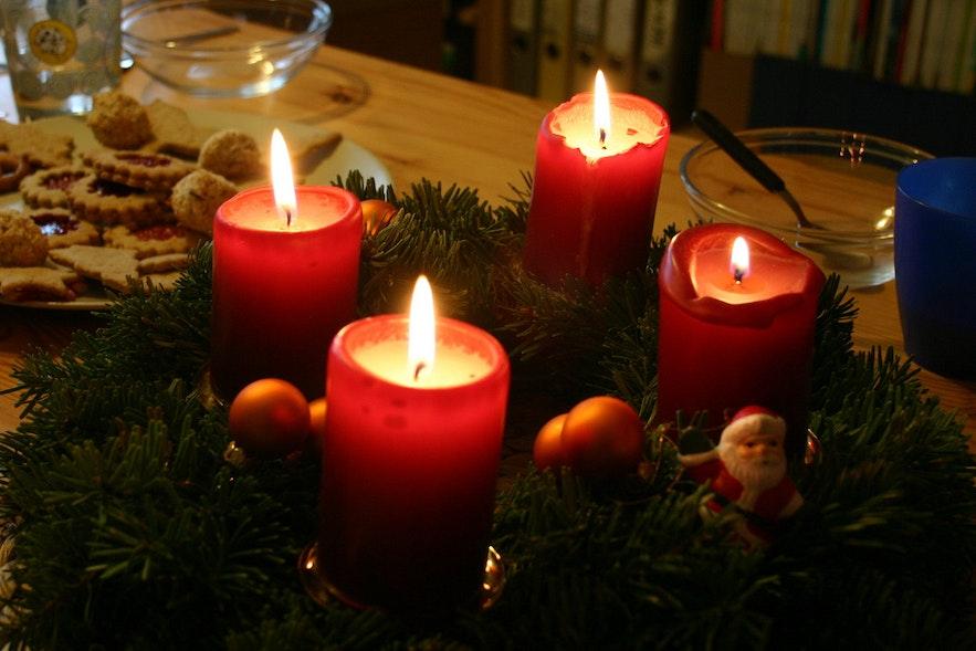 冰島聖誕蠟燭
