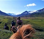 Going horseback riding is the best way to enjoy the landscapes of East Iceland.