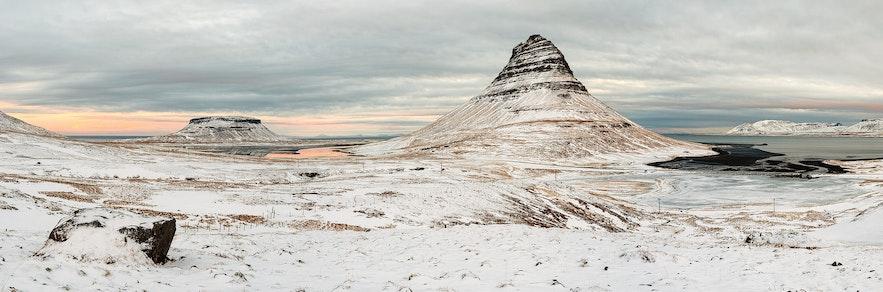 冰島冬季西部斯奈山半島