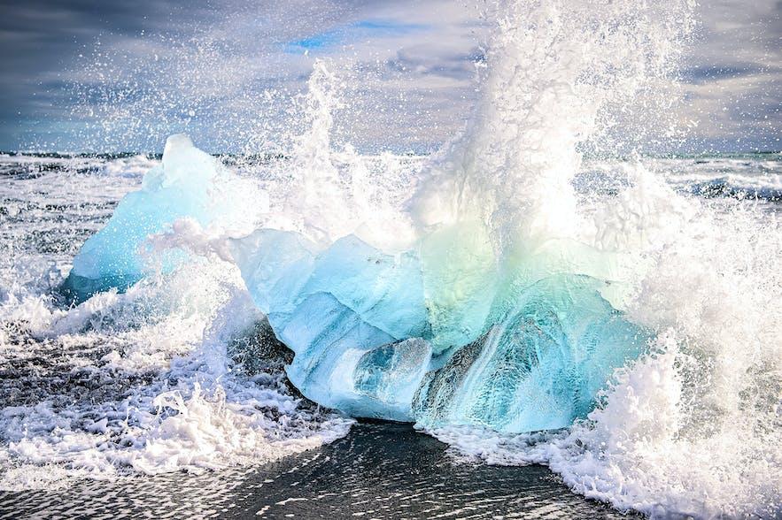 冰島傑古沙龍冰河湖