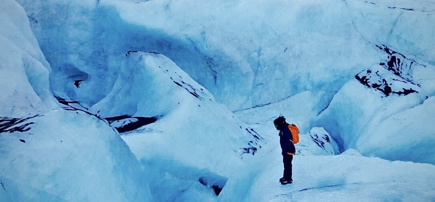 冰島冰原健行