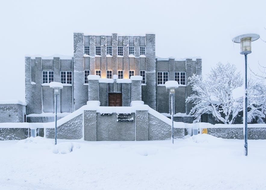 冰島二月雷克雅未克