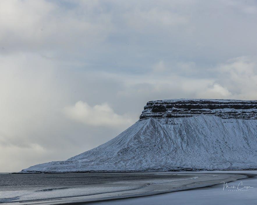冰島嚴冬景色