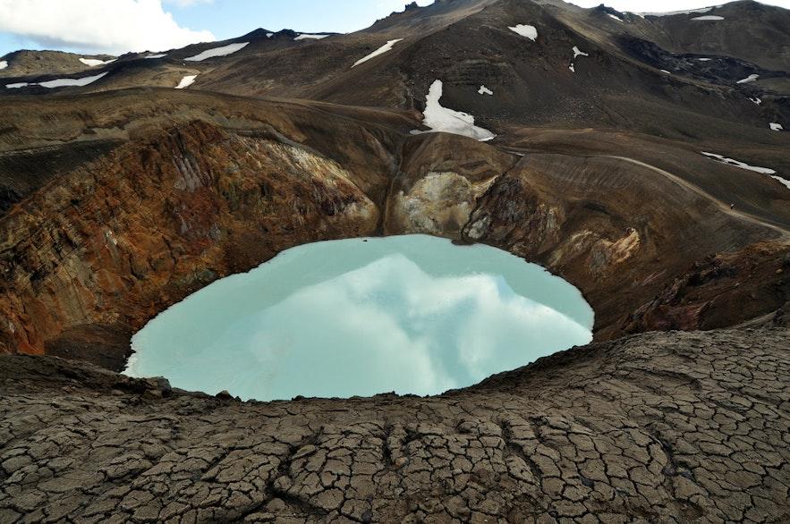 冰島Viti 火山溫泉