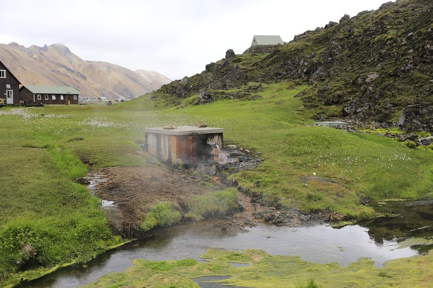 冰島野外溫泉
