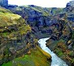 Markarfljótsgljúfur is a stunning river canyon in the Highlands of Iceland.