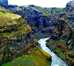 Markarfljótsgljúfur is a stunning river canyon in the Highlands of Iceland.