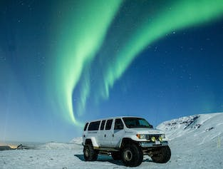Private Northern Lights Hunt from Reykjavik in a Super Jeep