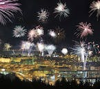 Iceland's capital Reykjavík witnesses an explosive event each year as the locals shoot up thousands of fireworks.