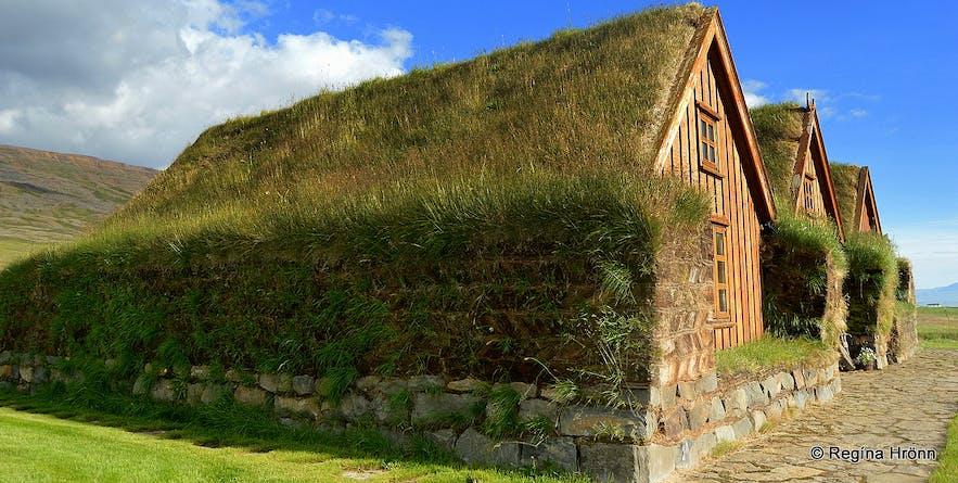 Hofsstaðir turf house in Skagafjörður North-Iceland