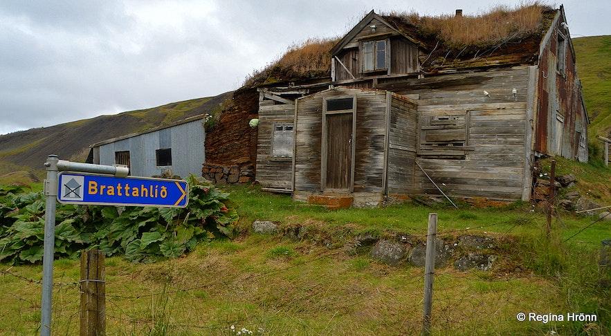 Brattahlíð in Svartárdalur valley North-Iceland