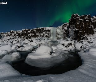 Golden Circle with Northern Lights, Fontana Spa & Traditional Cuisine