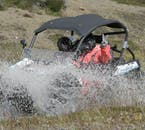 Buggies and All Terrain Vehicles are capable of traversing some challenging ground, including river crossings.