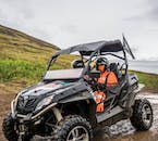 Buggy riding is one of the most popular activities in West Iceland.
