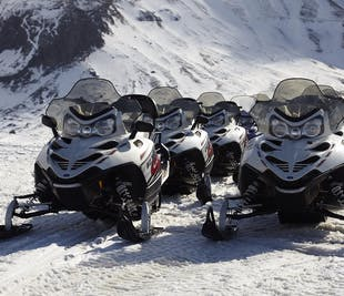 Buggy Ride & Snowmobiling on Langjokull Glacier