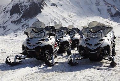 Buggy Ride & Snowmobiling on Langjokull Glacier