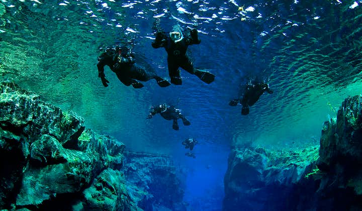 Silfra Fissure is often cited as one of the Top 10 scuba diving and snorkelling sites in the world.