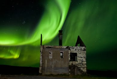 Northern Lights Hunt in a Minibus