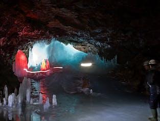 Lofthellir Höhlen-Erkundung | ab Akureyri