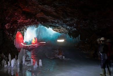 Lofthellir Lava Cave Tour from Akureyri