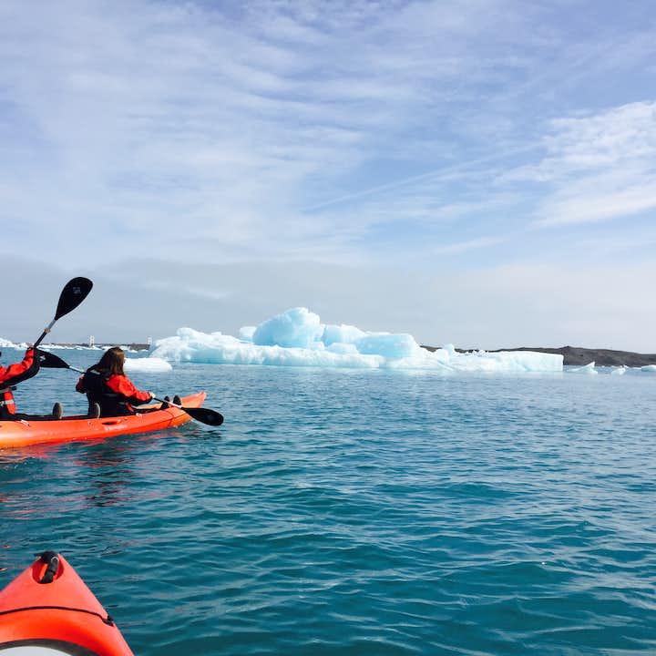 杰古沙龙冰河湖皮划艇体验团|特色旅行团