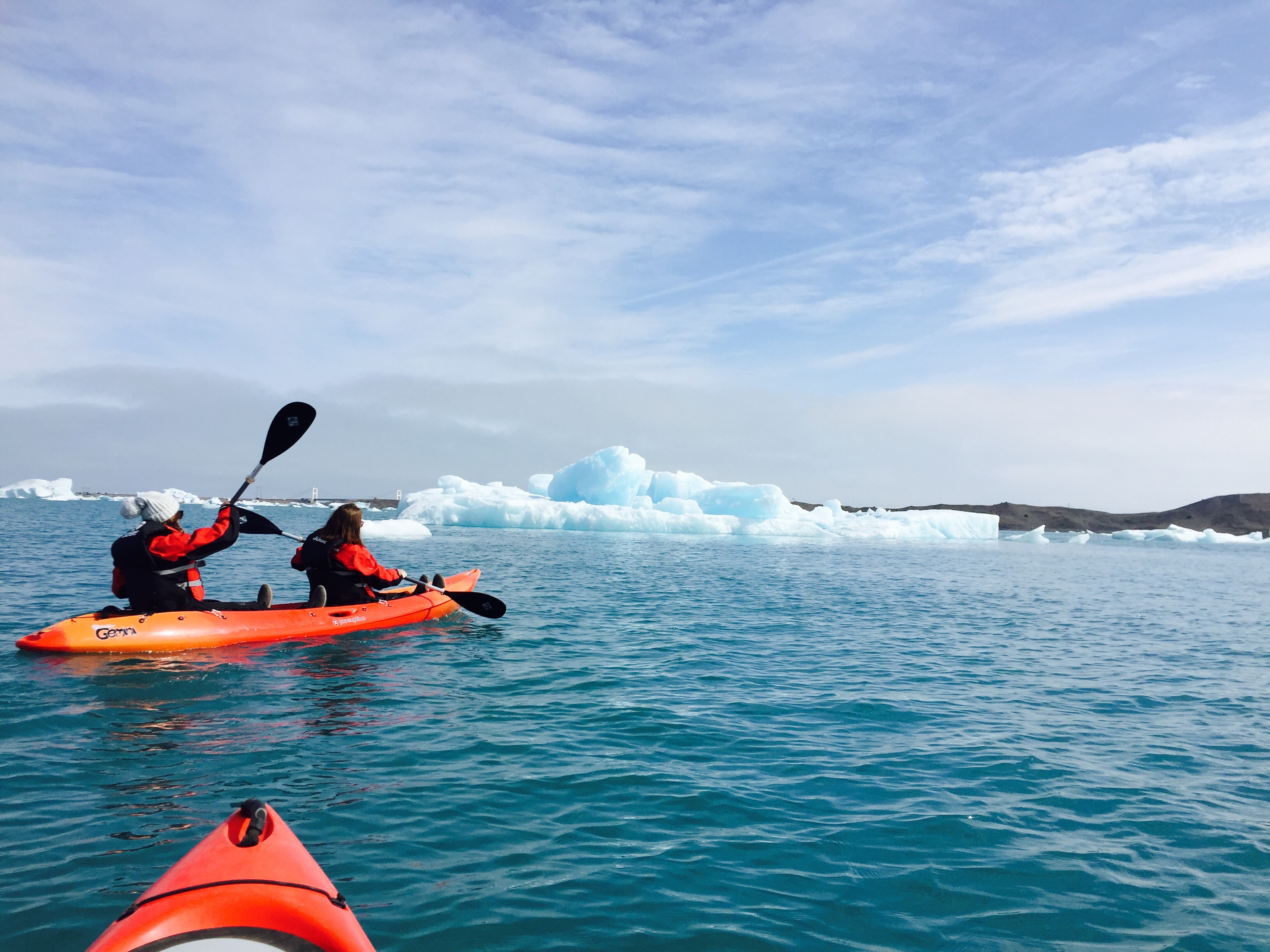 Jökulsárlón glacier lagoon is known for its incredible shades of blue and wonderful surrounding scenery.