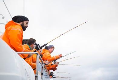 レイキャビク発|海釣りツアー