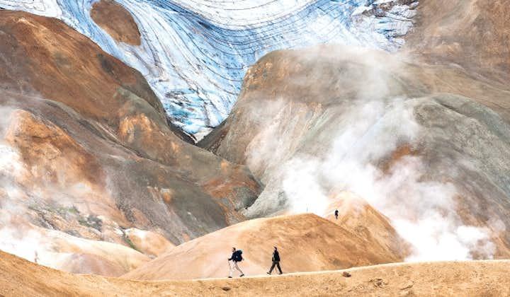 冰岛凯德灵加火山高地徒步一日游   阿克雷里出发
