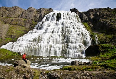 Dynjandi Waterfall & Westfjords Villages