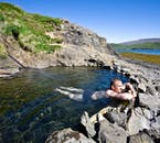 There are a few natural hot springs in which you can take a dip on your Westfjords tour.