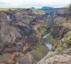 The Highlands of Iceland are riddled with canyons and ravines.
