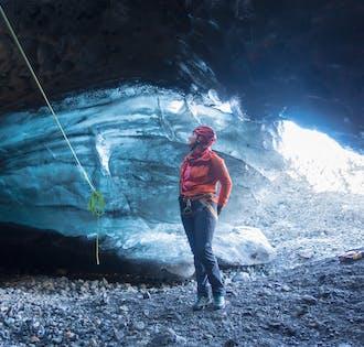 Grotta di ghiaccio e passeggiata sul ghiacciaio | Partenza da Skaftafell
