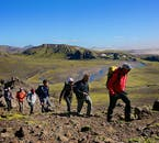 Trekking in good company is only matched by the incredible nature of Iceland.