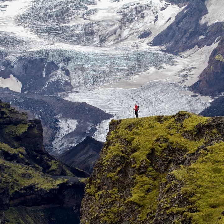 7-tägige Trekking-Tour | Landmannalaugar nach Skogar, Hütten-Übernachtung