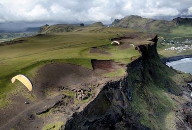 Paragliding Adventure Self-Drive Tour | Departure from Reykjavik