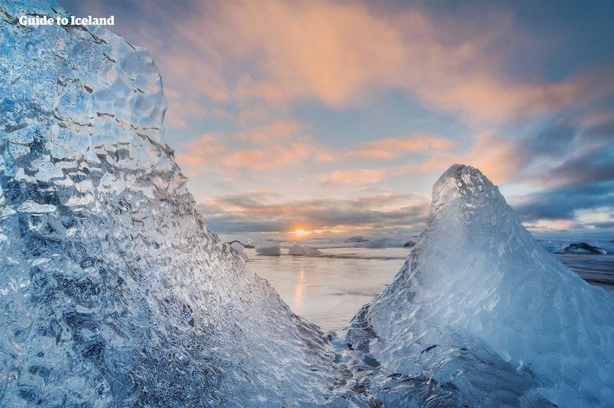 冰島鑽石沙灘