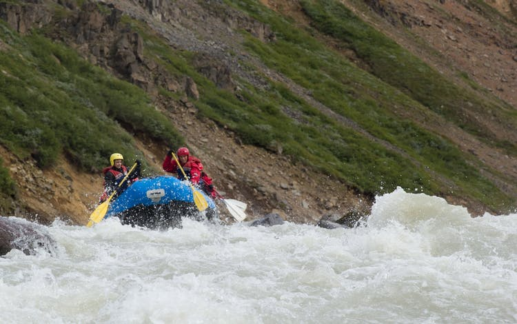 Prepare for white water in north-east Iceland.