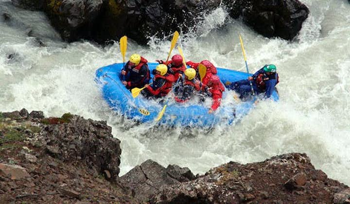 Your strength and nerves will be tested on an exciting rafting tour in North Iceland.