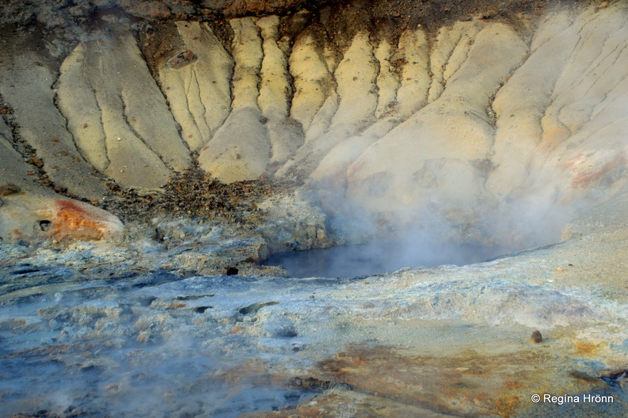 Seltún geothermal area in SW-Iceland