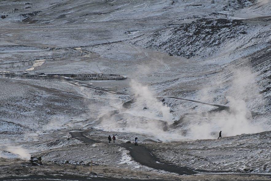 Reykjadalur Hot Spring Thermal River